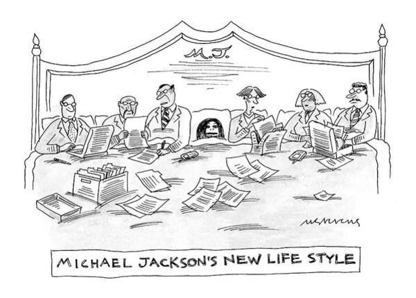 Legal Drawing - New Yorker July 4th, 2005 by Mick Stevens