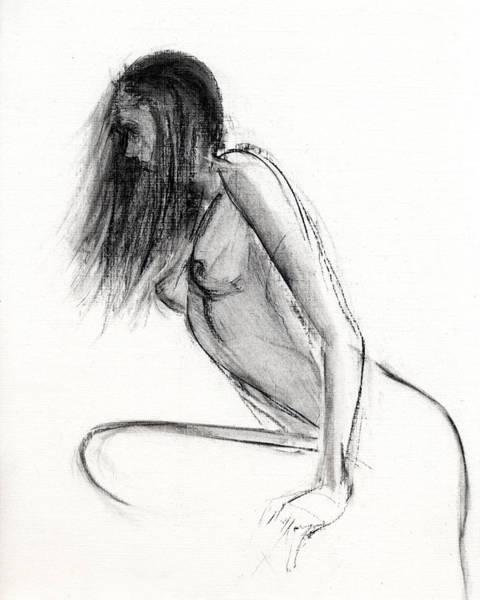 Simple Life Drawing - Rcnpaintings.com by Chris N Rohrbach