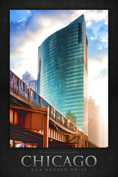 Painting - 333 W Wacker Drive Poster by Christopher Arndt