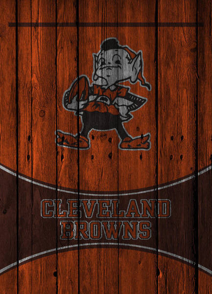 Cleat Photograph - Cleveland Browns by Joe Hamilton