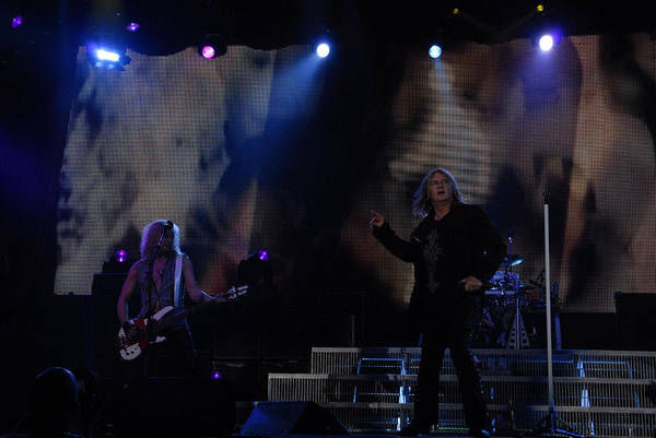 Photograph - Def Leppard by Jenny Potter