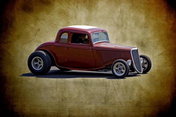 Photograph - 34 Street Rod by Wes and Dotty Weber