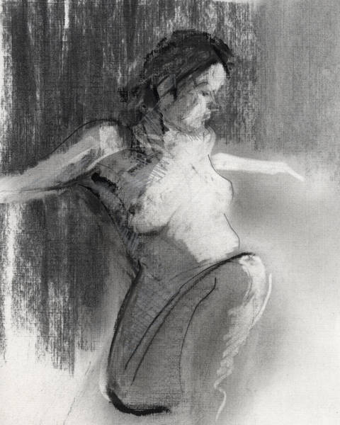 Pencil Drawing Painting - Rcnpaintings.com by Chris N Rohrbach