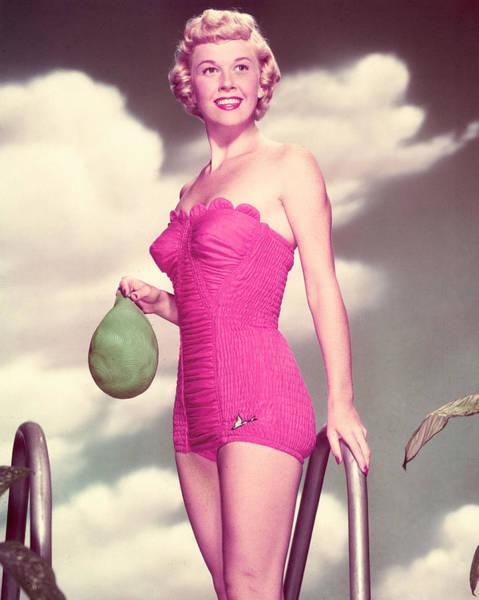 Glamorous Photograph - Doris Day by Silver Screen