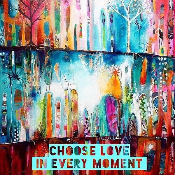 Wall Art - Photograph - Choose Love by Tracy Verdugo