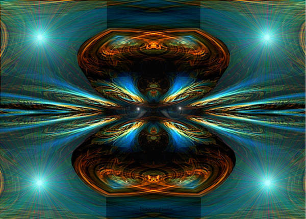 Illumination Painting - 353 - A Strange  Universe .... by Irmgard Schoendorf Welch