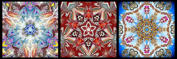 Digital Art - 356 Infinity I by Derek Gedney
