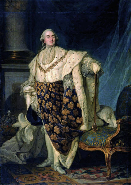 Wall Art - Painting - Louis Xvi (1754-1793) by Granger
