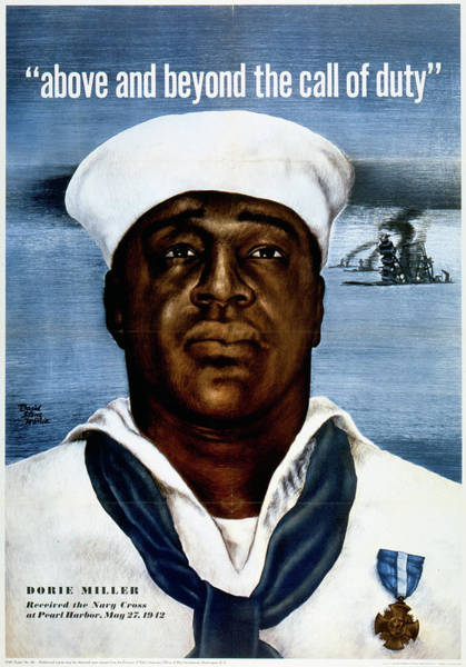 African American Drawing - Wwii Poster, C1943 by Granger