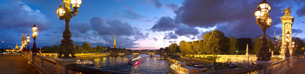 Alexandre Photograph - 360 Degree View Of The Pont Alexandre by Panoramic Images