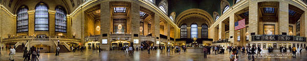 Grand Central Terminal Wall Art - Photograph - 360 Panorama Of Grand Central Terminal by David Smith