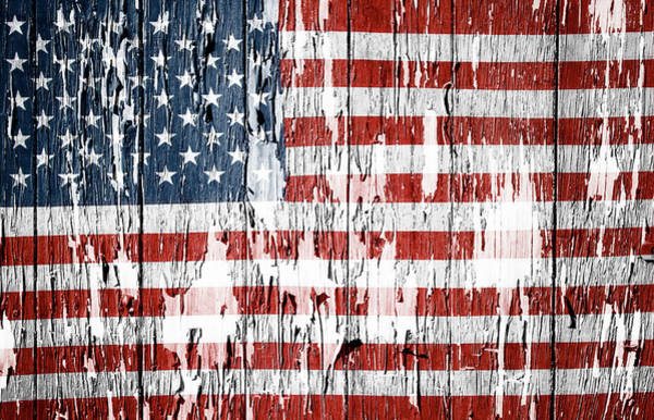 Flag Wall Art - Photograph - American Flag 49 by Les Cunliffe