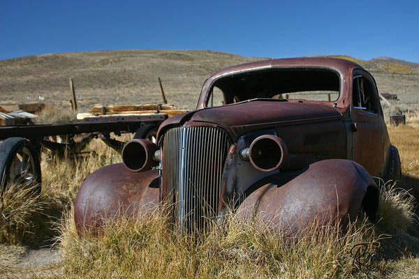 Photograph - '37 Chevy In Bodie by Ann Ranlett