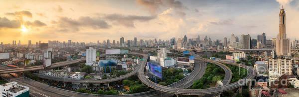 Wall Art - Photograph - Bangkok City by Anek Suwannaphoom