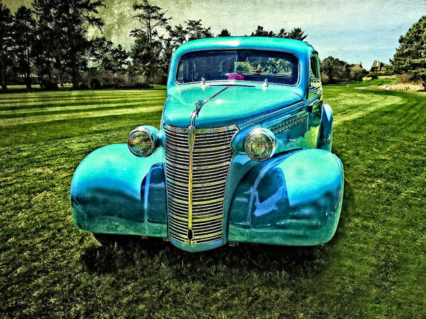 38 Chevy Coupe Art Print