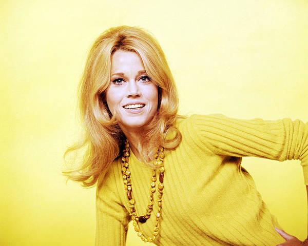 Glamorous Photograph - Jane Fonda by Silver Screen