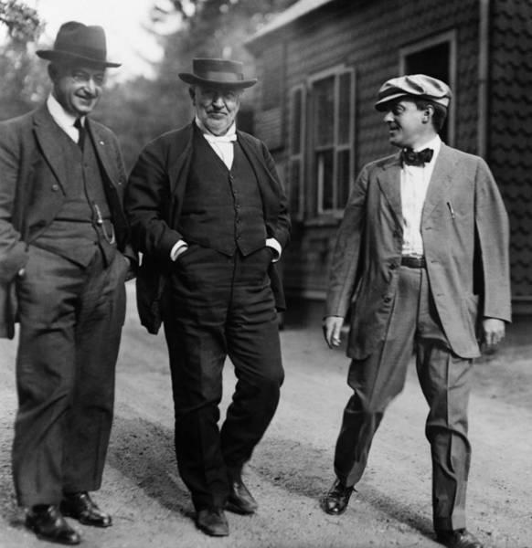 Wall Art - Photograph - Thomas Edison (1847-1931) by Granger