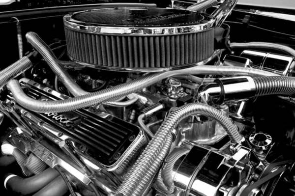 V8 Engine Wall Art - Photograph - 383 Small Block by Mike Maher