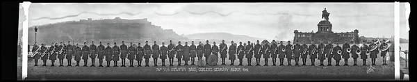 Platoon Wall Art - Photograph - 38th U.s Infantry Band, Coblenz Germany by Fred Schutz Collection