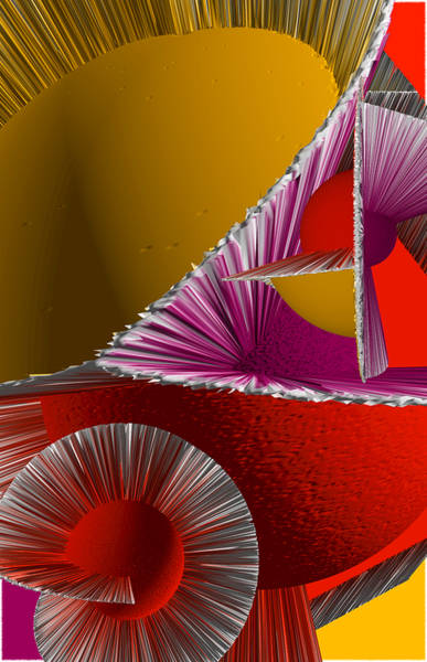Digital Art - 3d Abstract 6 by Angelina Tamez