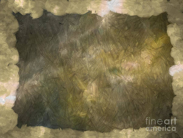 Nonprofit Digital Art - 3d Zone Brown by Holley Jacobs