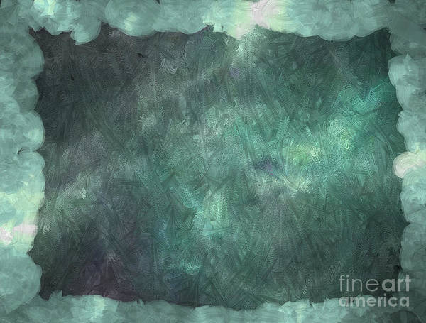 Nonprofit Digital Art - 3d Zone Teal by Holley Jacobs
