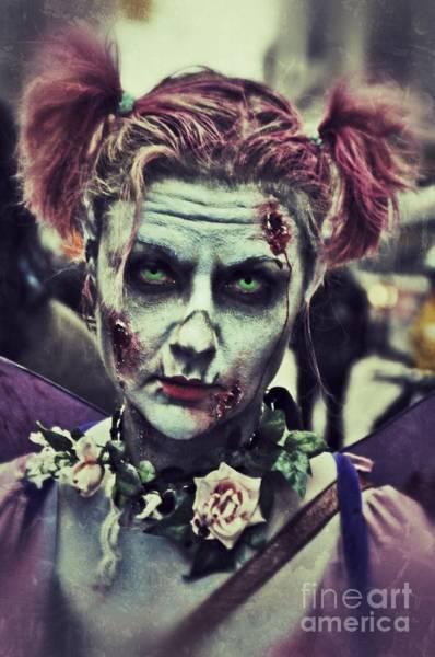 The Undead Photograph - 10th Annual Toronto Zombie Walk by Andrea Kollo