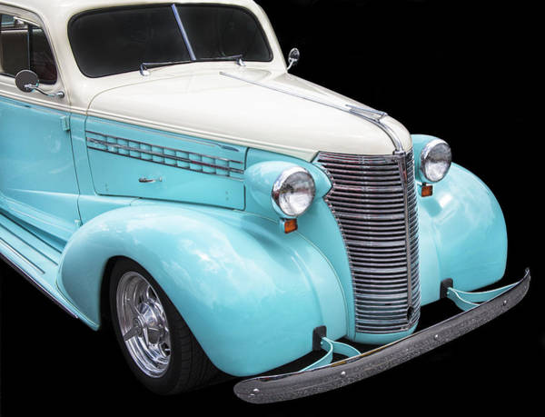 Mag Wheels Wall Art - Photograph - 1938 Chevrolet by Rich Franco