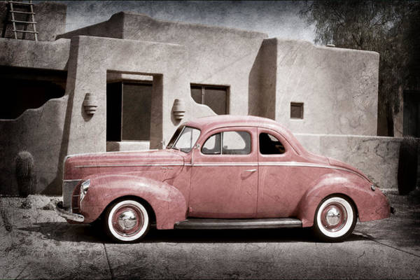 Photograph - 1940 Ford Deluxe Coupe by Jill Reger