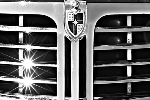 Photograph - 1948 Lincoln Continental Grille Emblem by Jill Reger