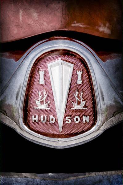 Hornet Photograph - 1953 Hudson Hornet Emblem by Jill Reger