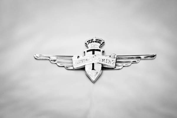 Touring Photograph - 1954 Hudson Italia Touring Coupe Emblem by Jill Reger