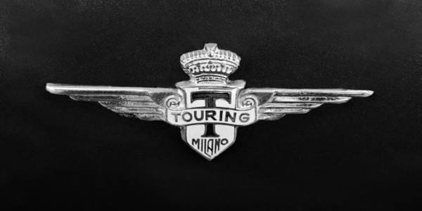 Touring Photograph - 1962 Maserati 3500 Gt Emblem by Jill Reger
