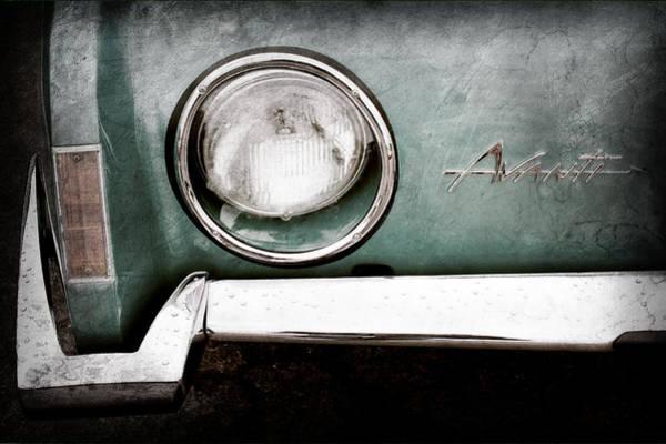 Studebaker Photograph - 1963 Studebaker Avanti Emblem by Jill Reger