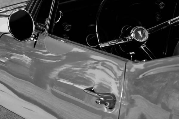 Firebird Photograph - 1967 Pontiac Firebird Steering Wheel Emblem by Jill Reger