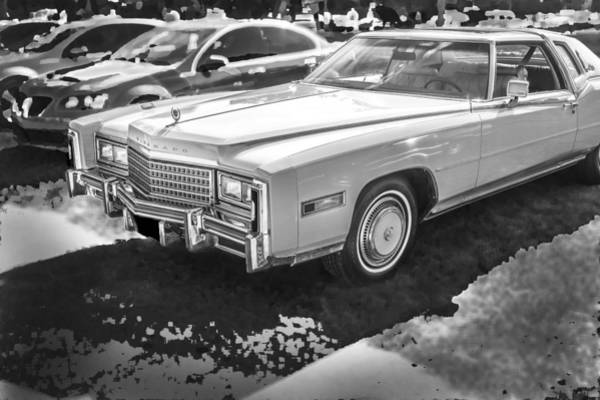 V8 Engine Photograph - 1978 Cadillac Eldorado by Rich Franco