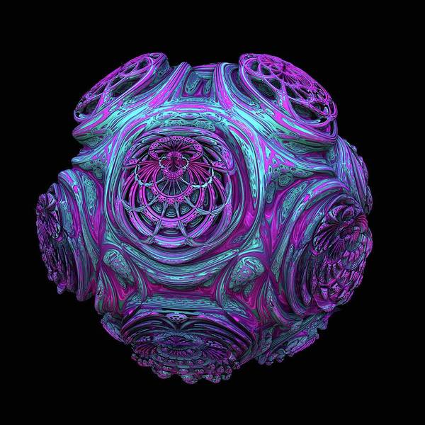 3d Visualization Photograph - 3d Fractal by Laguna Design/science Photo Library