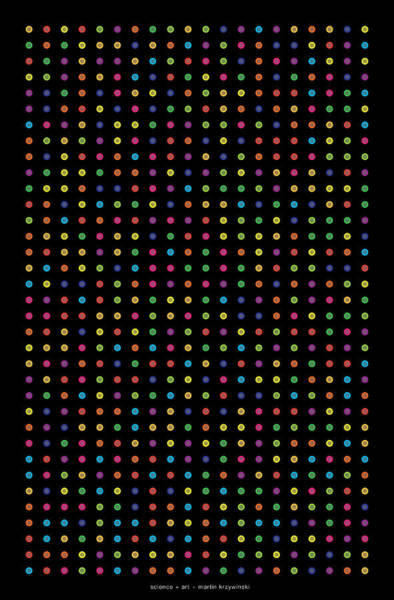 Visualization Digital Art - 700 Digits Of Pi by Martin Krzywinski