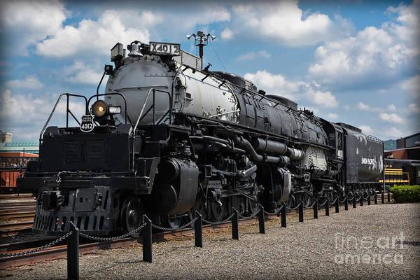 Photograph - 4-8-8-4 Big Boy Locomotive by Gary Keesler