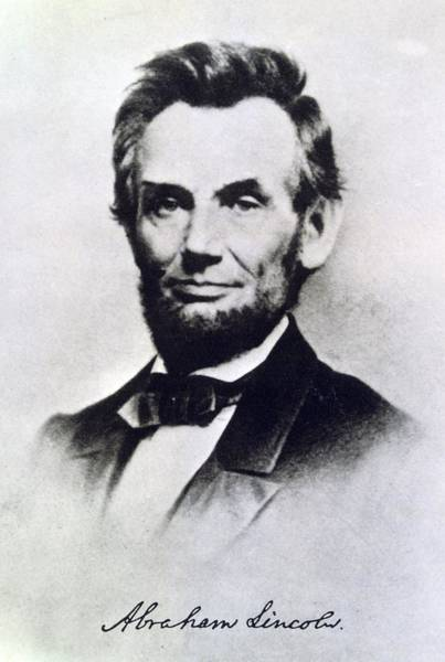 Sixteenth Wall Art - Photograph - Abraham Lincoln by Anonymous