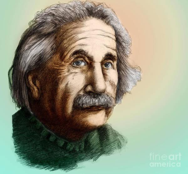 Mass-energy Equivalence Wall Art - Photograph - Albert Einstein, German-american by Spencer Sutton