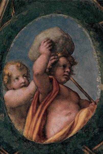Putto Photograph - Allegri Antonio Known As Correggio by Everett
