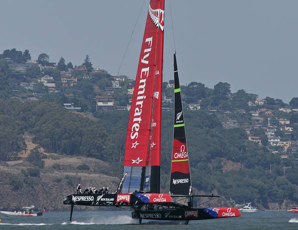 Americas Cup Photograph - America's Cup San Francisco by Steven Lapkin