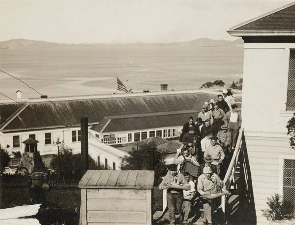 Wall Art - Painting - Angel Island, 1918 by Granger