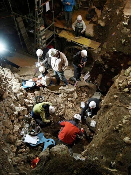 Homo Sapiens Photograph - Atapuerca Fossil Excavation by Javier Trueba/msf
