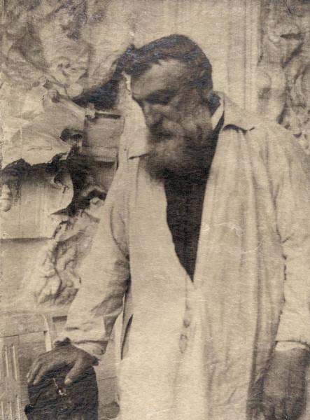 Wall Art - Photograph - Auguste Rodin (1840-1917) by Granger