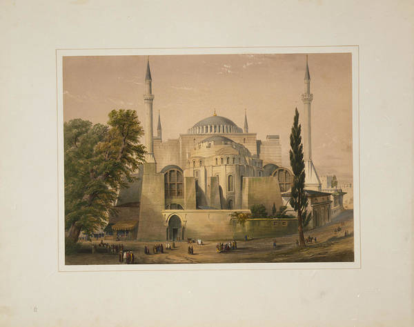 Painting - Ayasofya Mosque by Celestial Images