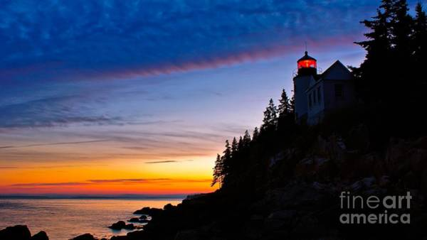 Photograph - Bass Harbor Head Light.  by New England Photography
