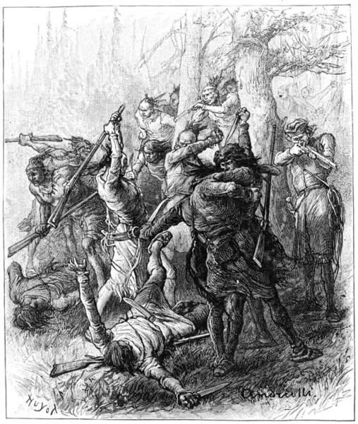 Wall Art - Painting - Battle Of Tippecanoe, 1811 by Granger