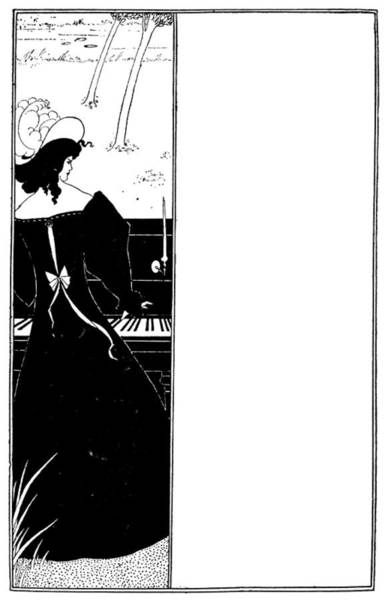 Drawing - Beardsley Yellow Book by Granger